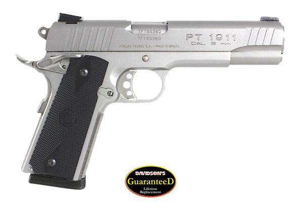 Taurus Model 1911 PT-1911 Pistol Semi-Auto 9MM Stainless Steel