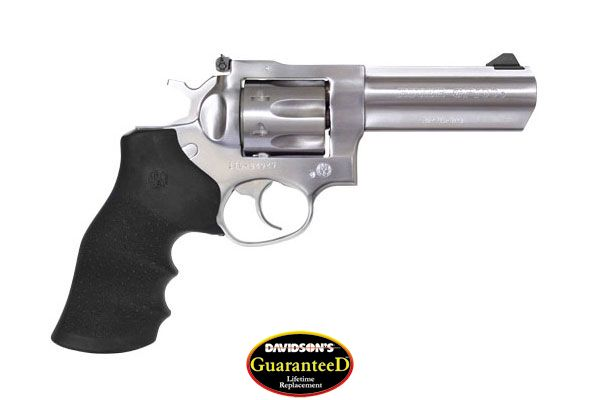 Ruger Model GP100 Revolver Double Action 327 Federal Satin Stainless Steel