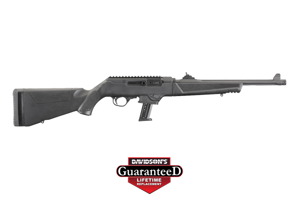 Ruger Model PC Carbine Rifle Semi-Auto 9MM Type III Hardcoat Anodized