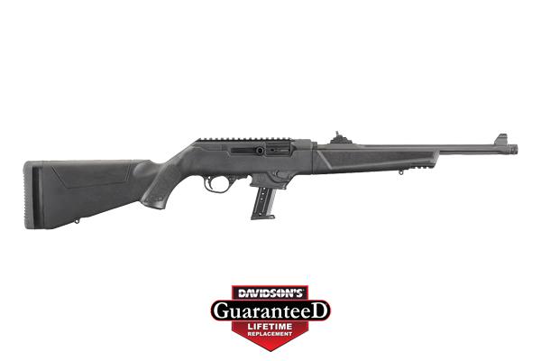 Ruger Model PC Carbine Rifle Semi-Auto 9MM Type III Hardcoat Anodized