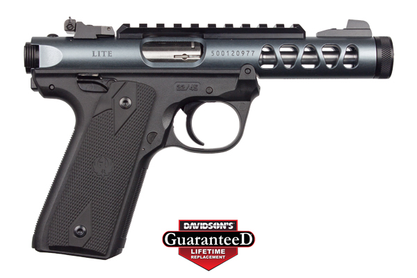 Ruger Model Mark IV Pistol Semi-Auto 22LR Diamond Gray Anodized