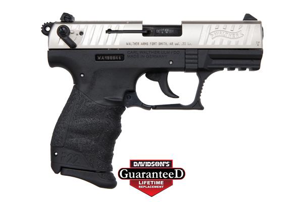 walther arms inc model p22 pistol semi auto 22lr two tone black