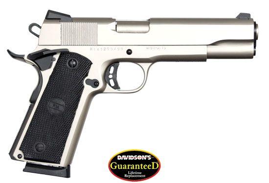 Armscor Model 1911 ROCK Pistol Semi-Auto 45AP Matte Nickel