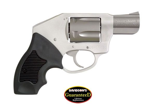 Charter Arms Model Off Duty Revolver Double Action Only 38SP Aluminum (Looks Like Stainless Steel)