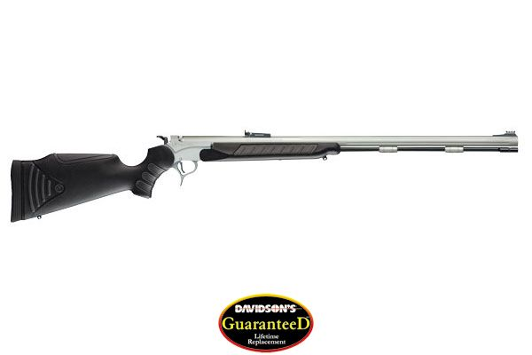 Thompson/Center Model Encore Rifle Muzzleloader 50 Blkpwdr Carbon Steel with Weather Shield Metal Finish
