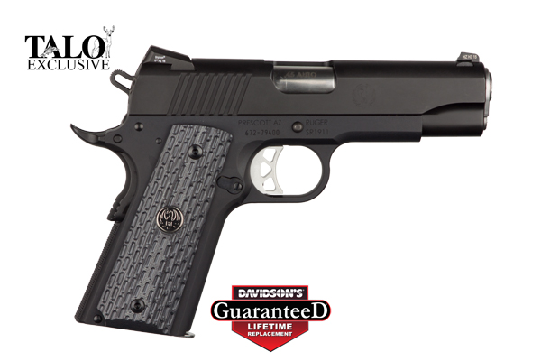 Ruger Model SR1911 Pistol Semi-Auto 45AP Stainless With Nitride Finish