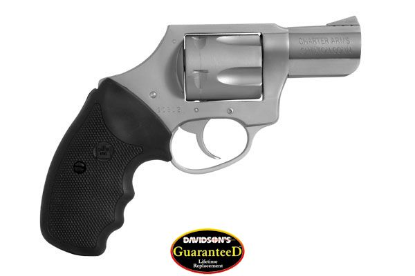 Charter Arms Model Mag Pug Revolver Double Action Only 357 Stainless Steel