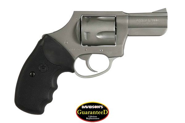 Charter Arms Model Bulldog Revolver Double Action Only 44SP Stainless Steel