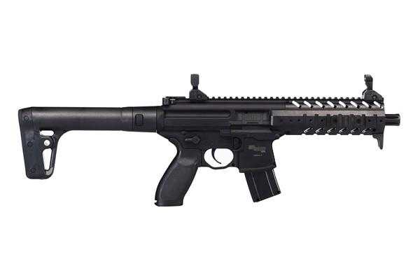 Sig Sauer Model MPX Rifle Air Gun 177 Black