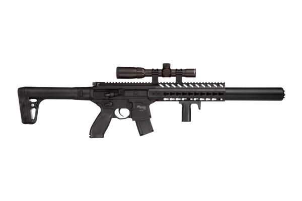 Sig Sauer Model MCX Rifle Air Gun 177 Black