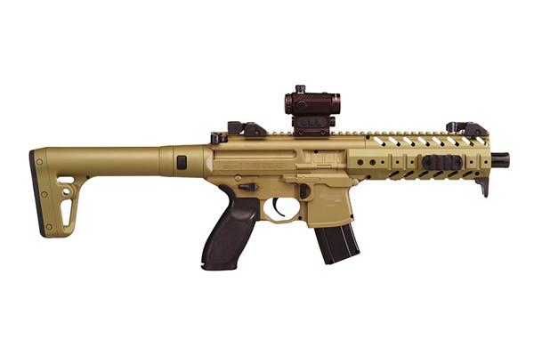 Sig Sauer Model MPX Rifle Air Gun 177 Flat Dark Earth
