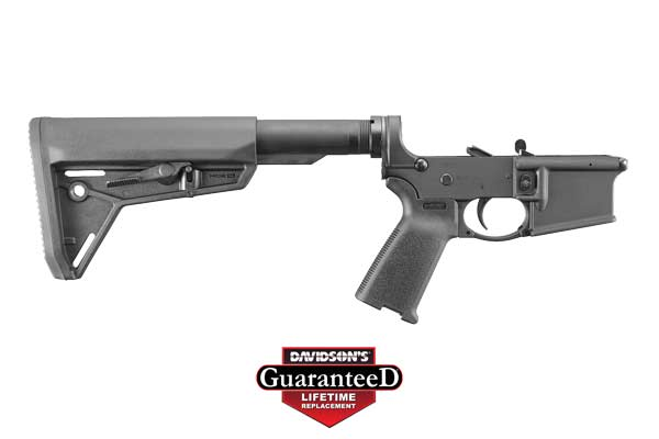 Ruger Model AR-556 AR Lower Complete 5.56 NATO|223 Black Hardcoat Anodized