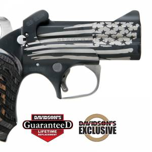 Bond Arms Model Old Glory Pistol Derringer 45LC|410 Gauge Cerakote Black