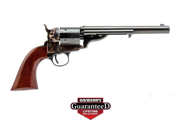 Cimarron Model 1872 Open Top Navy Revolver Single Action 45LC Blue