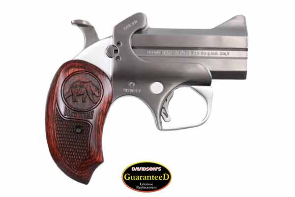 Bond Arms Model Brown Bear Derringer Pistol Derringer 45LC Stainless Steel