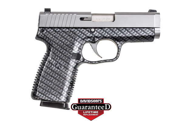 Kahr Arms Model CW9 Pistol Semi-Auto 9MM Matte Stainless Steel