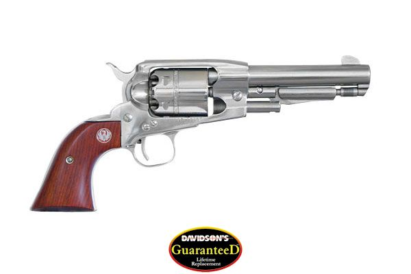 Ruger Model Old Army Revolver Single Action 45 Blkpwdr Bright Stainless Steel