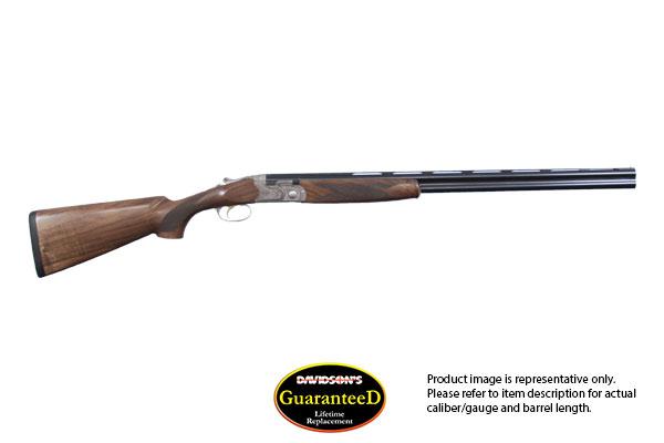 Beretta Model 686 Pigeon Silver Pigeon 1 Shotgun Over and Under 20 Gauge Blued Barrels/ Nickel Plated Receiver