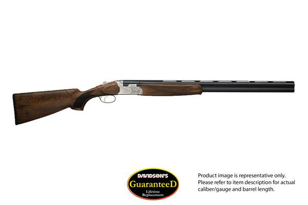 Beretta Model 686 Pigeon Silver Pigeon 1 Shotgun Over and Under 12 Gauge Blued Barrels/ Nickel Plated Receiver