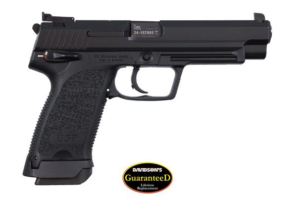 Heckler koch model usp pistol semi auto 9mm black nitro for Koch automobile
