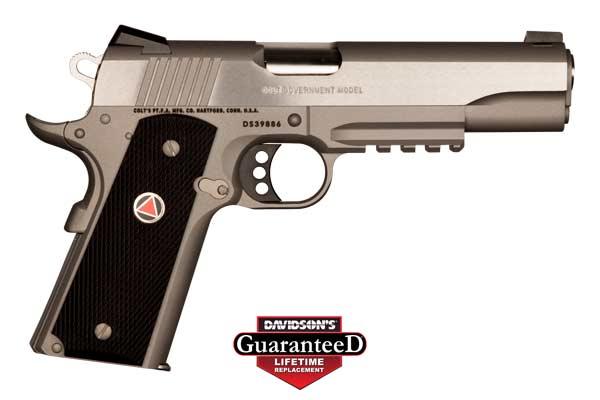 Colt Model 1911 Delta Elite Government Pistol Semi-Auto 10MM Stainless Steel