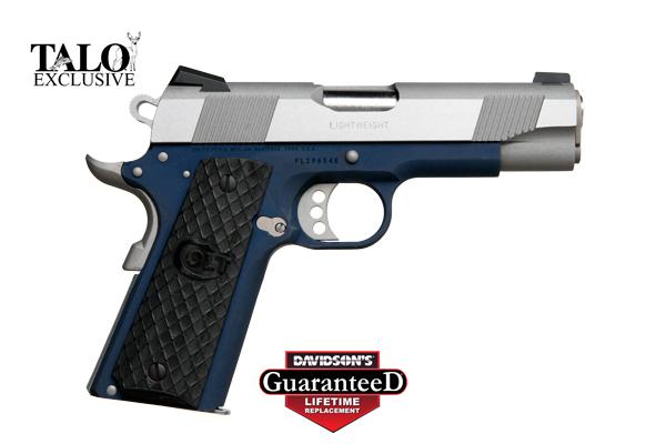 c74264a49c1 Colt Model 1911 Lightweight Commander Pistol Semi-Auto 45AP Stainless Steel  Slide  Anodized Blue