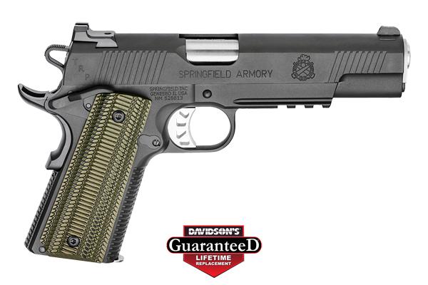Springfield Armory Model 1911A1 TRP Pistol Semi-Auto 10MM Black Matte Armory Kote