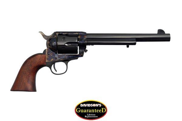 Cimarron Model Frontier General Custer 7th Cavalry Revolver Single Action 45LC Blue