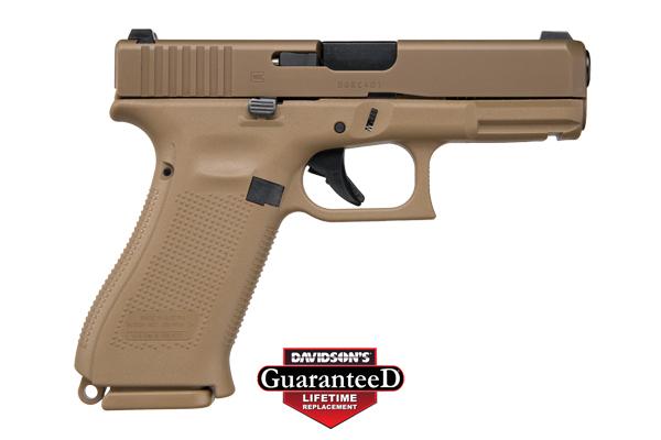 Glock Model 19X Pistol Semi-Auto 9MM Coyote
