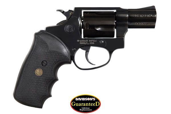 BrazTech Model R35102 Revolver Double Action 38SP Blue
