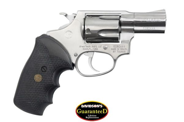 BrazTech Model R35202 Revolver Double Action 38SP Stainless Steel