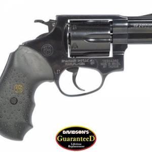 BrazTech Model R46102 Revolver Double Action 357 Blue