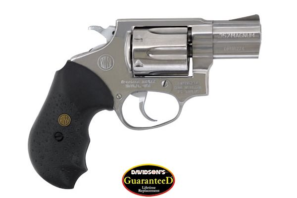 BrazTech Model R46202 Revolver Double Action 357 Stainless Steel