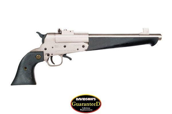 Comanche Model Comanche Single Shot Pistol Single Shot 45LC|410 Gauge Satin Nickel