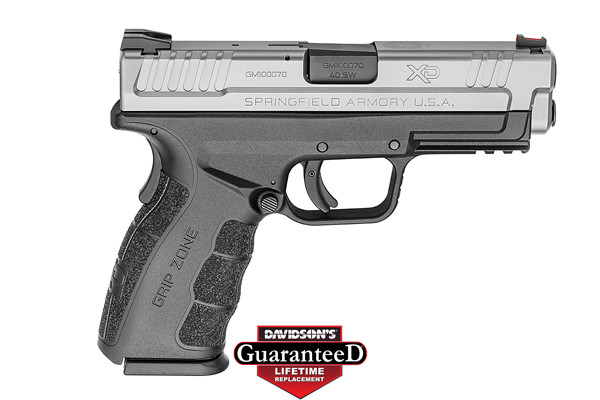 Springfield Armory Model XD Pistol Semi-Auto 40SW Black Polymer Frame and  Stainless Steel Slide